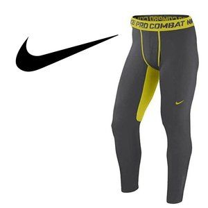 Nike PRO Combat Hyperwarm Fitted Dri-Fit Max Tights - Large